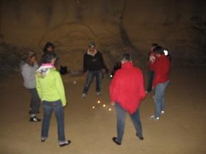 Qi Gong in de grot
